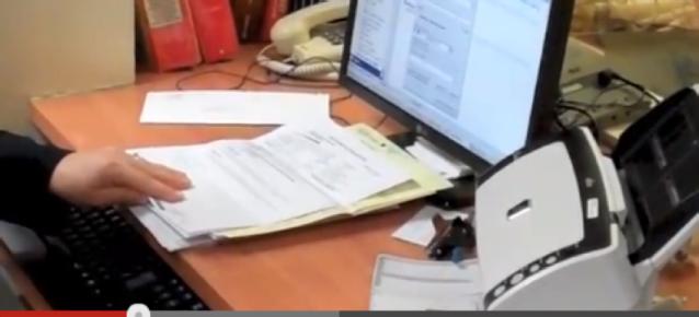 Numérisation de l'information reçue en format papier